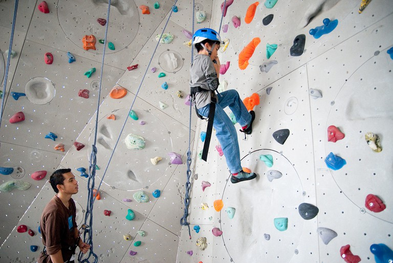 Climbing wall | © Yusmar Yahaya/Flickr