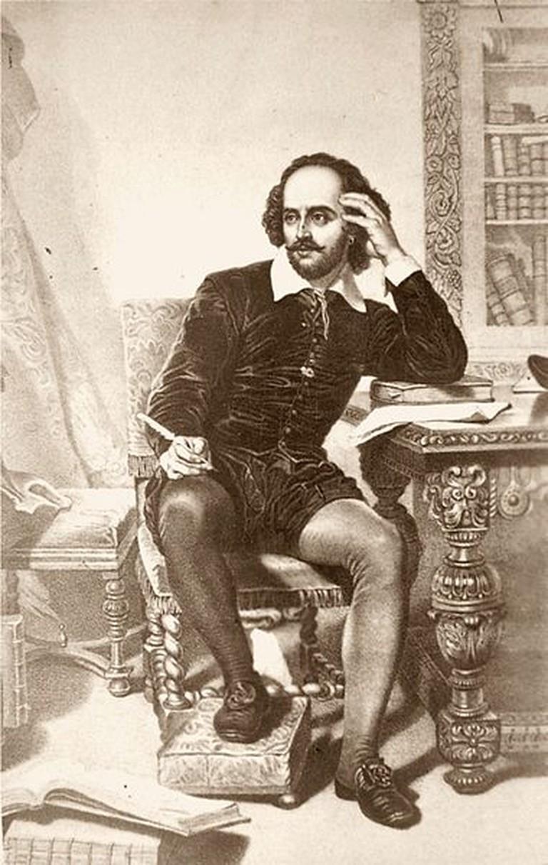 William Shakespeare | ©Unbekannt nach einem Gemälde/WikiCommons