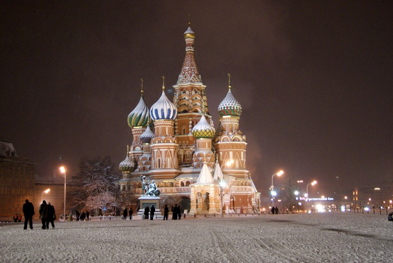 St. Basil's Cathedral in winter |© Sergey Rodovnichenko/Flickr