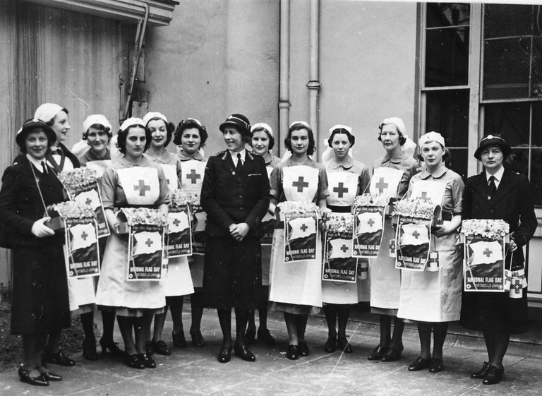 Fundraising in 1941 © British Red Cross