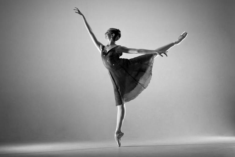 Katherine Higgins, arabesque I © Katherine Higgins/Facebook