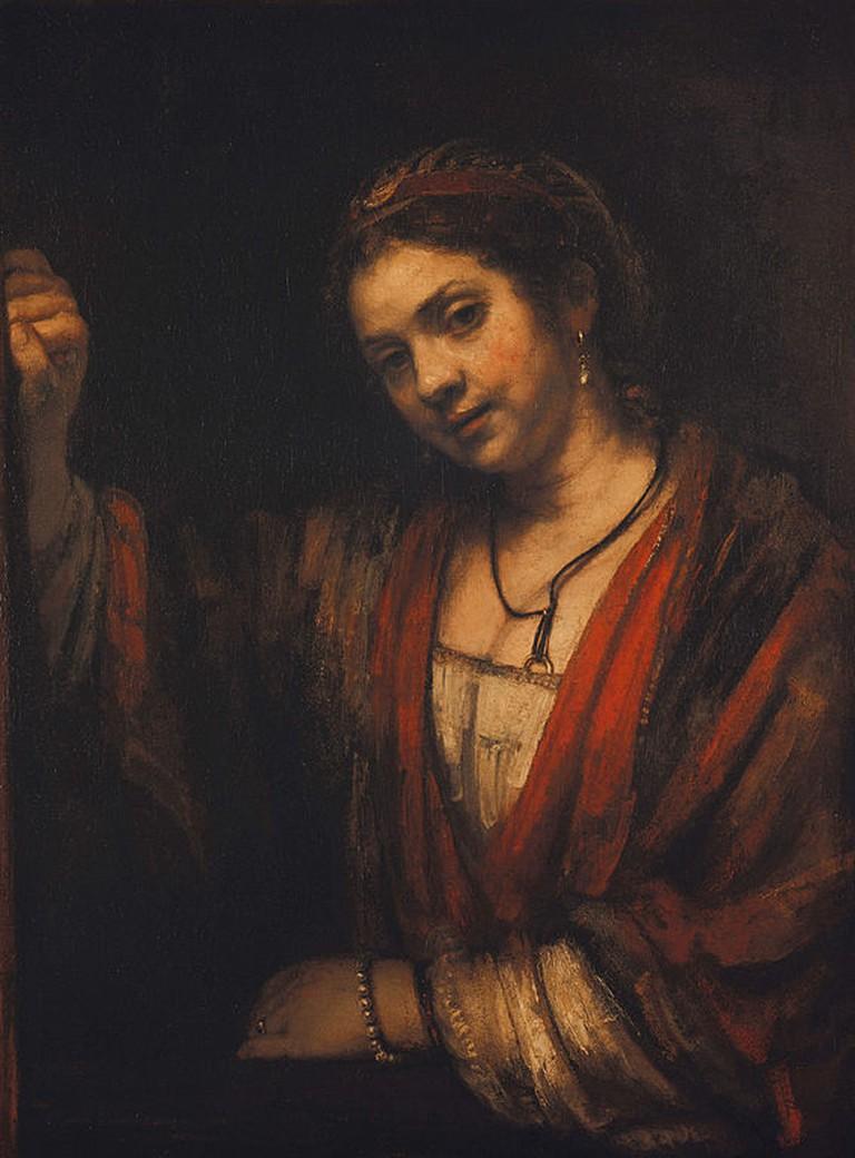 Rembrandt, Portrait of Hendrickje Stoffels, circe 1656 | © Rembrandt/WikiCommons