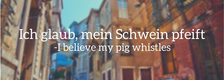 Closest English approximation: I'll believe that when pigs fly