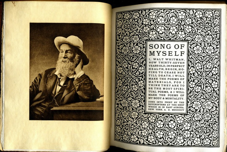 Song of Myself by Walt Whitman, Roycroft 1906