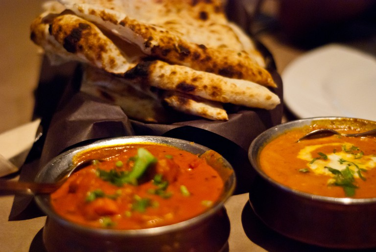 Tikka Masala, Kofta and Naan © SteFou!/Flickr