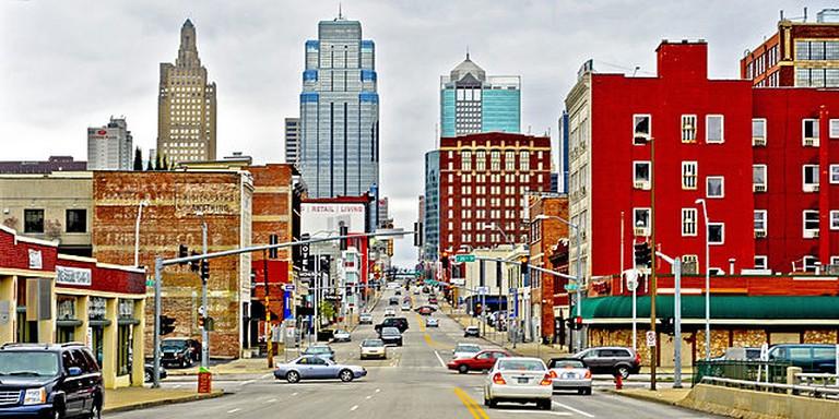 Grand Blvd in Downtown Kansas City| © Kcphotoblog/Wikicommons