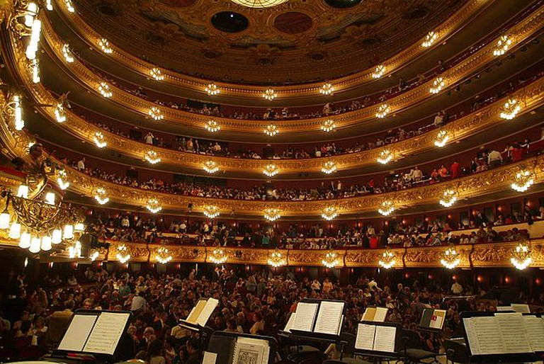 Liceu – Interior | © by Josep Renalias