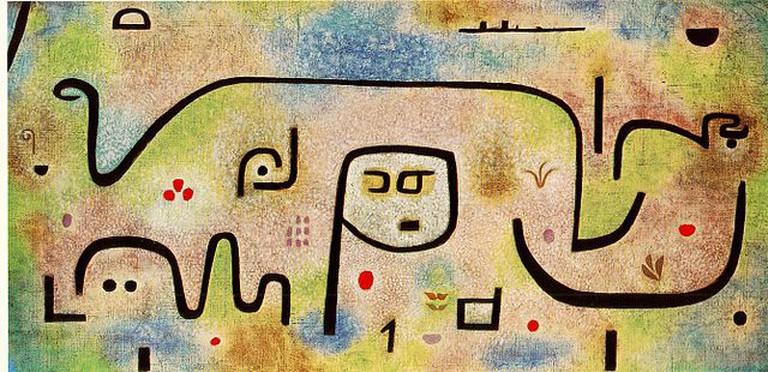 Paul Klee, Insula dulcamara © Wikimedia Commons