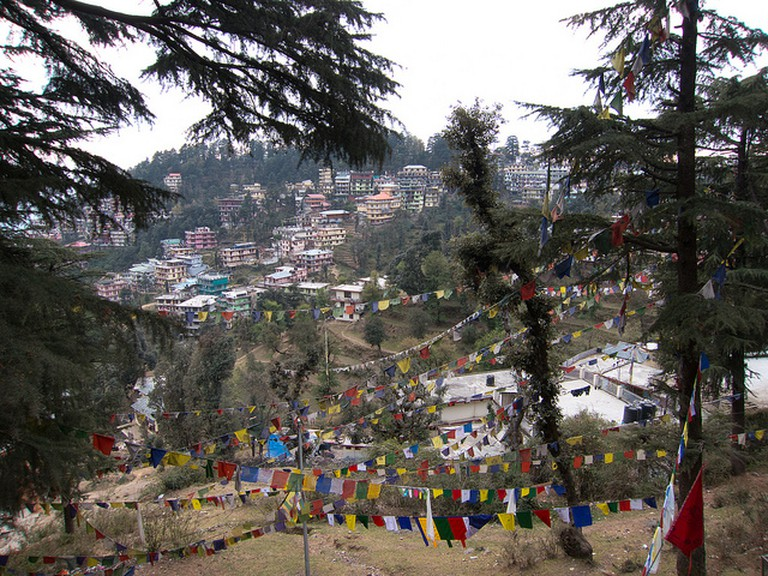Mcleodganj town view ©Geoff Stearns