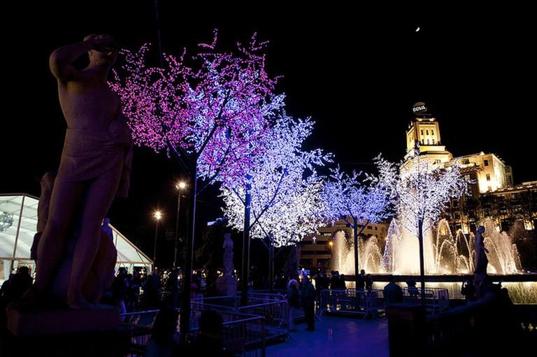 Christmas Lights in Barcelona | © Ajuntament Barcelona/Flickr