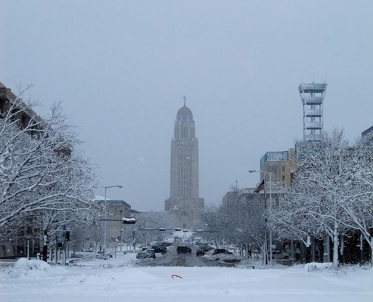 Snowy Lincoln, Nebraska I © RLEVANS/Flickr