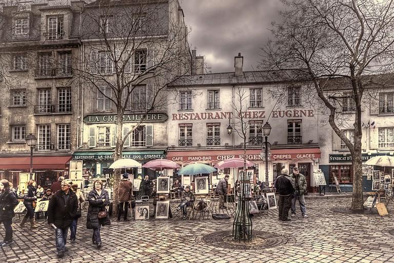 Place du Tetre, Montmartre   © Jack Torcello/Flickr