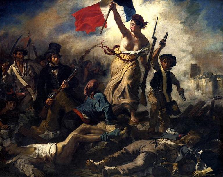 Liberty Leading the People, artist Eugéne Delacroix/© Musée du Louvre/WikiCommons