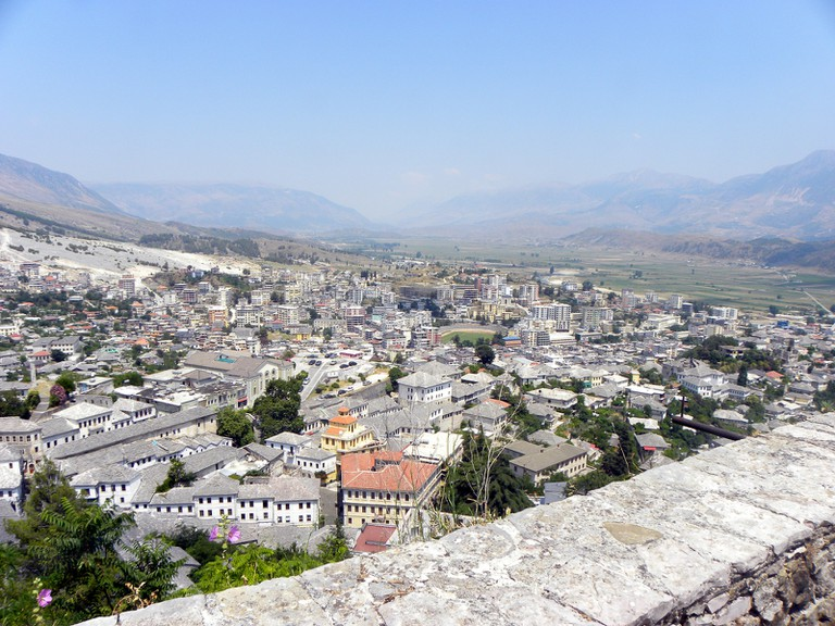 View from Gjirokastër Castle