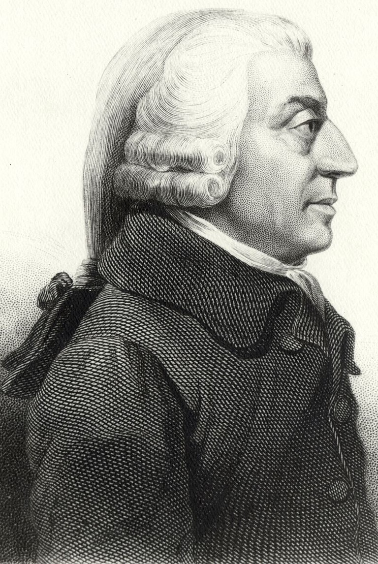 Adam Smith | Protonk / Wikicommons