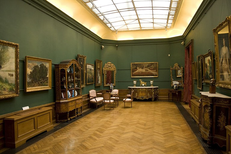 First hall of the Charlier Museum | © Szilas/WikiCommons
