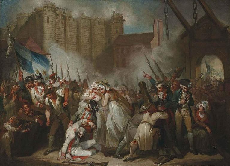 La prise de la Bastille/artist Henry Singleton/© WikiCommons
