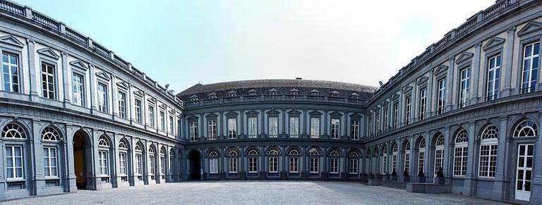 Panorama of Palais Egmont  ©Wiki Commons