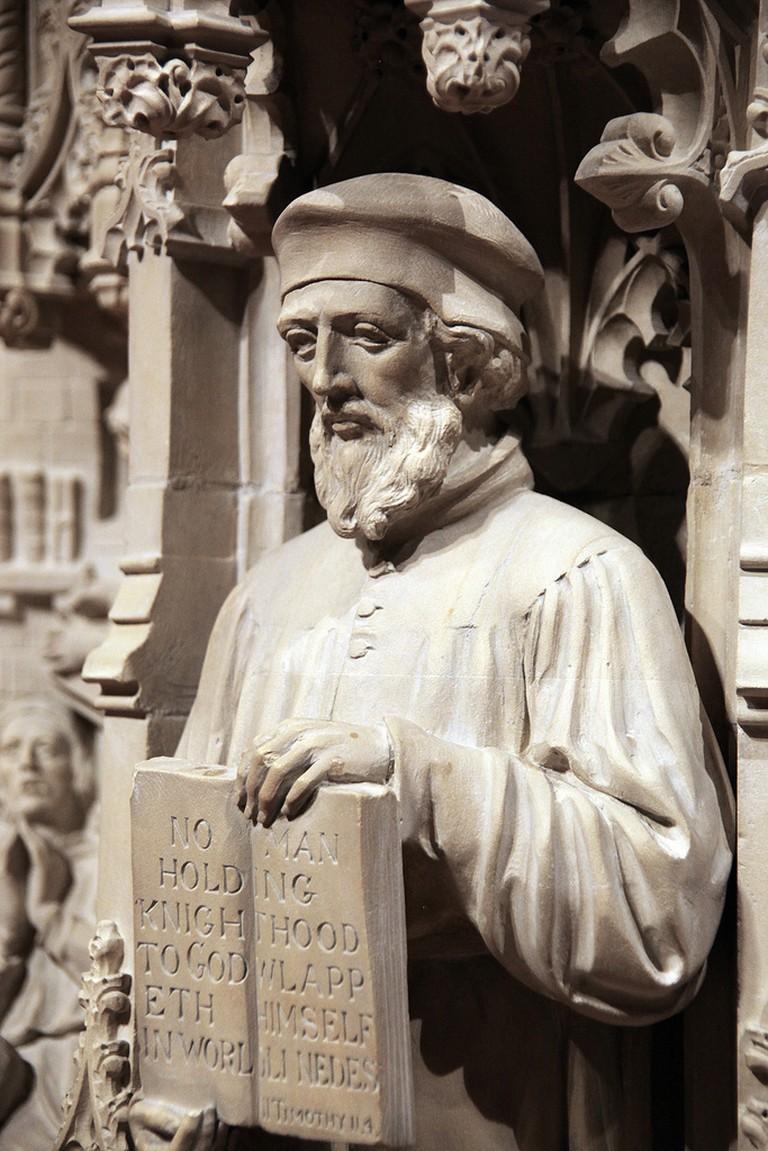 John Wycliffe | Tim Evanson / Flickr