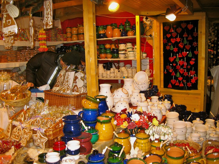 If you're looking to buy an iconic Hungarian souvenir, this is the place to do it in December
