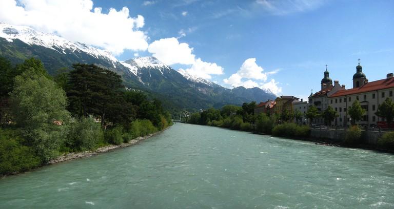 The river Inn, Innsbruck ©Abhijeet Rane