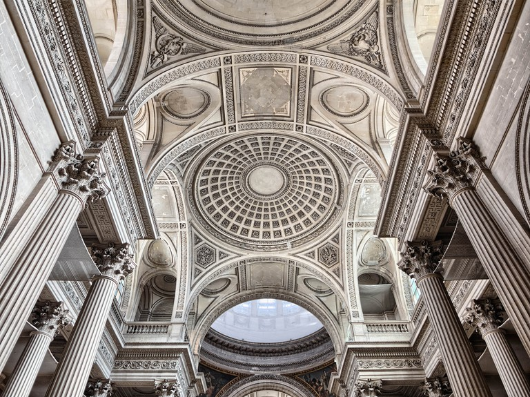 Ceiling of the Panthéon | © Joe deSousa/Flickr