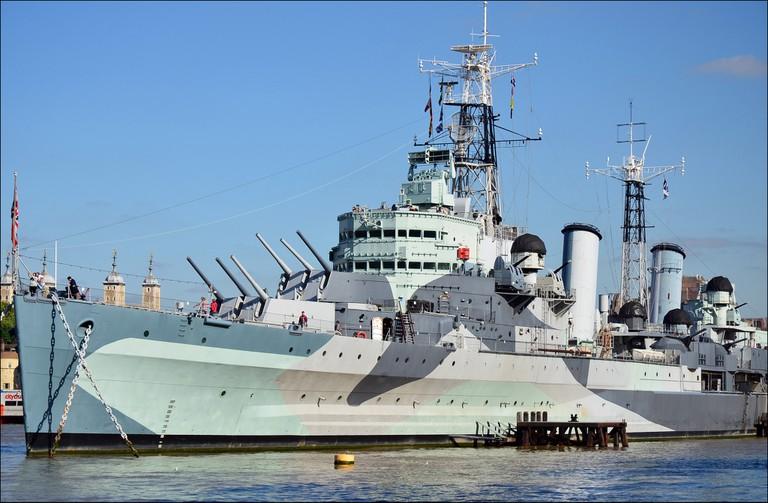HMS Belfast | © George Rex / Flickr