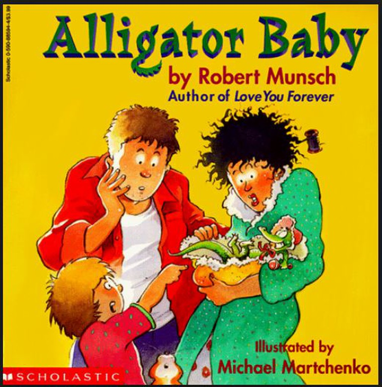 Alligator Baby | © Scholastic
