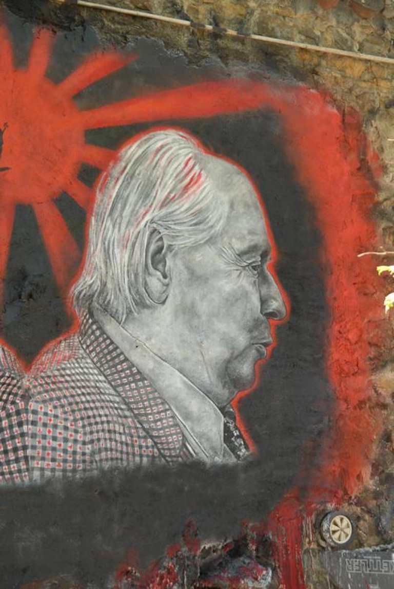 Mural of J. G. Ballard | © thierry ehrmann/Flickr