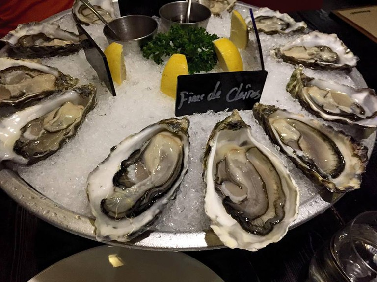 Oysters at Brasserie 8+