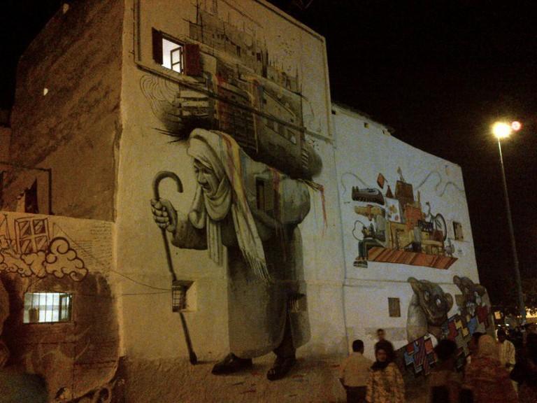 Street Art in the Medina | © Sam Nabi/Flickr