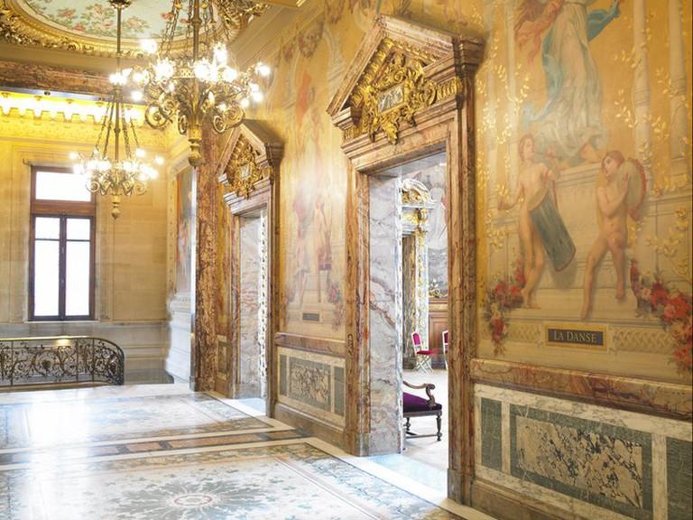 Splendid Interiors at the Opéra Comique| © Opéra Comique / Anonymous Designers