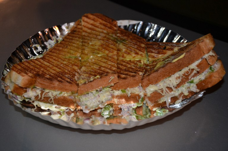 Mayonnaise Cheese Grilled Sandwich
