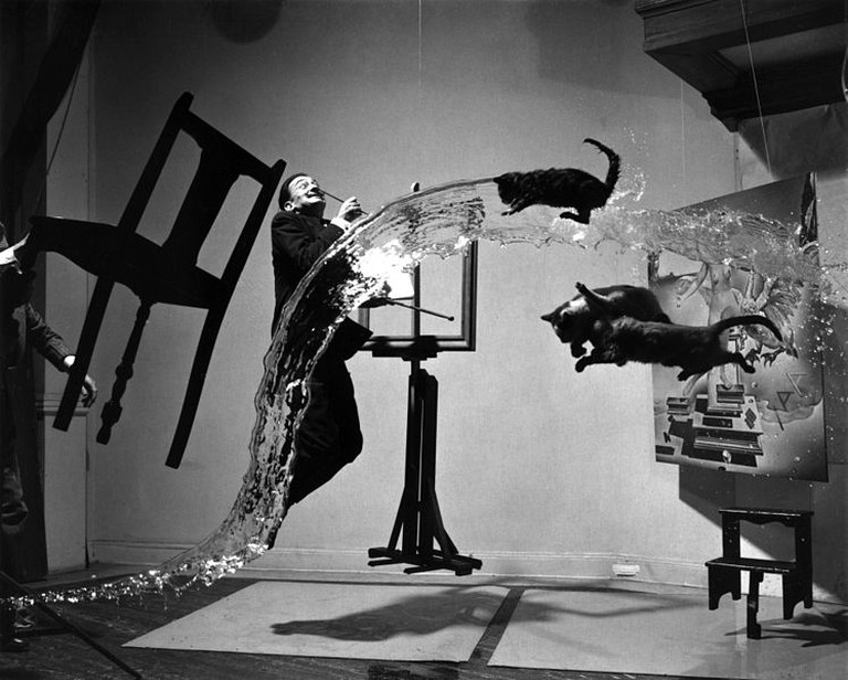 Dali Atomicu, Salvador Dali and Philippe Halsman