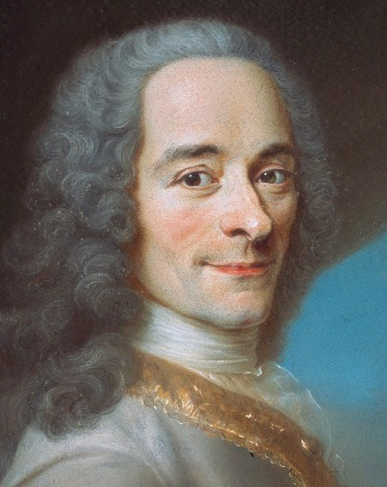Voltaire | © After Maurice Quentin de la Tour/WikiCommons