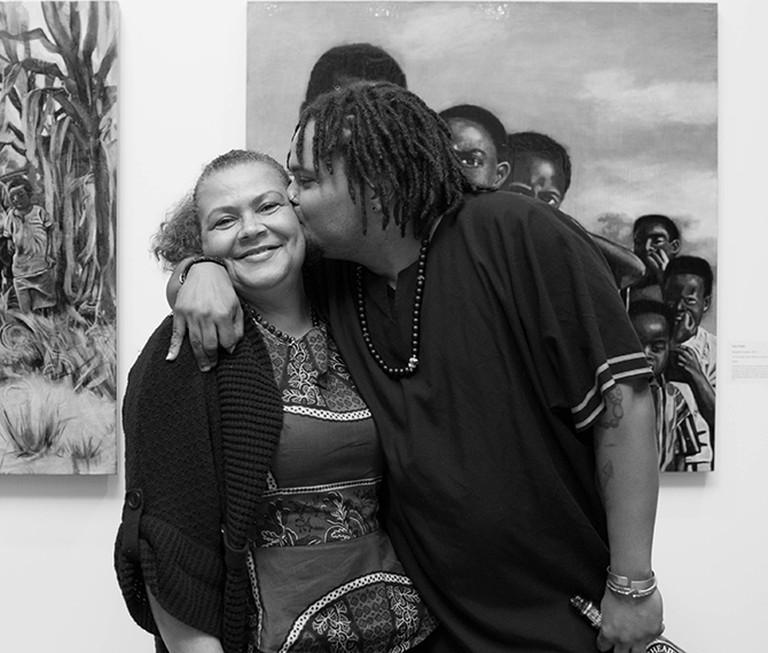 Mother & Son – The Fabric of Tanzania | © Eliot Kim Photography