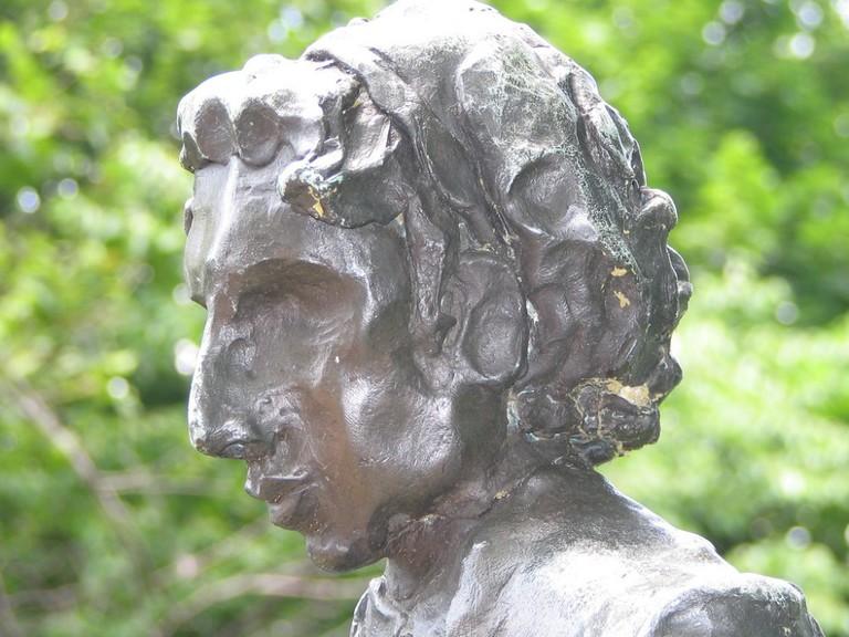 Emma Lazarus sculpture