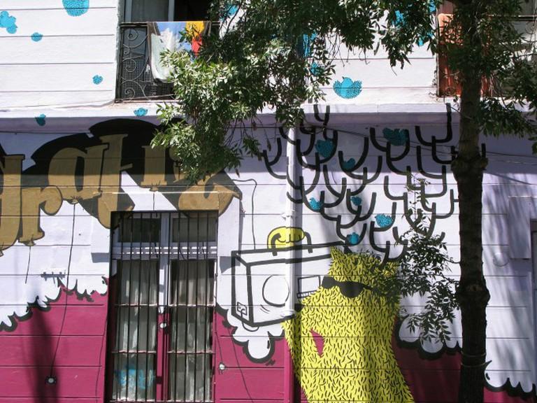 Barrio Brasil, Santiago Chile