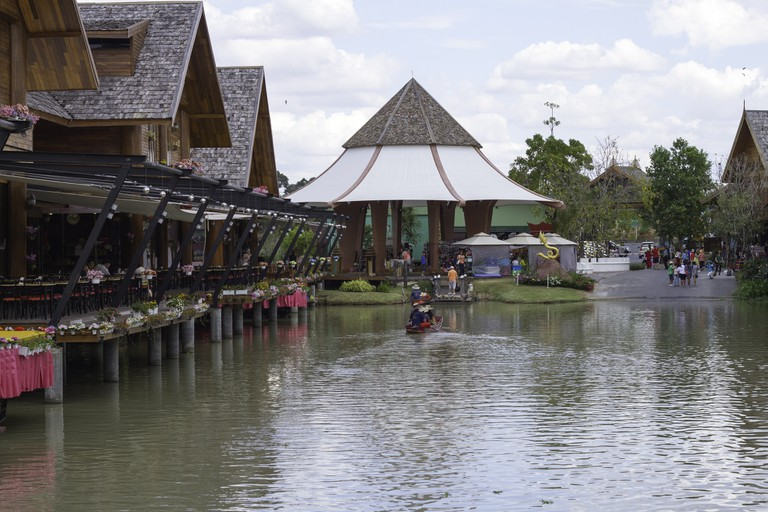 Floating Market|© Kashmirhare/Flickr