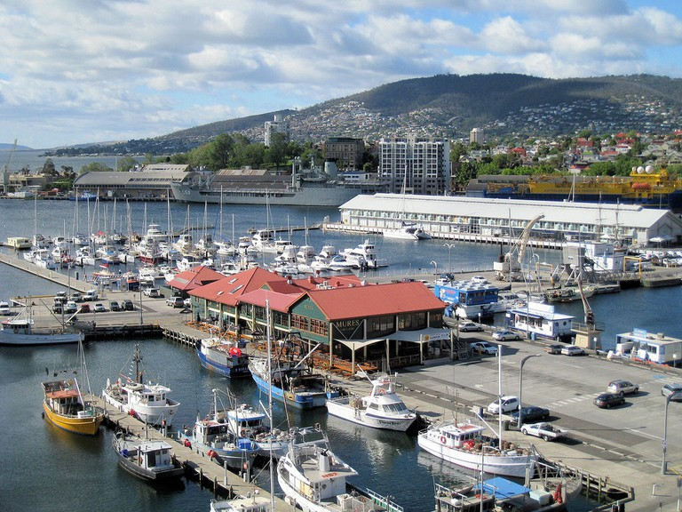 The Hobart waterfront has one of Tasmania's most spectacular views | © Wendy Cutler/Flickr