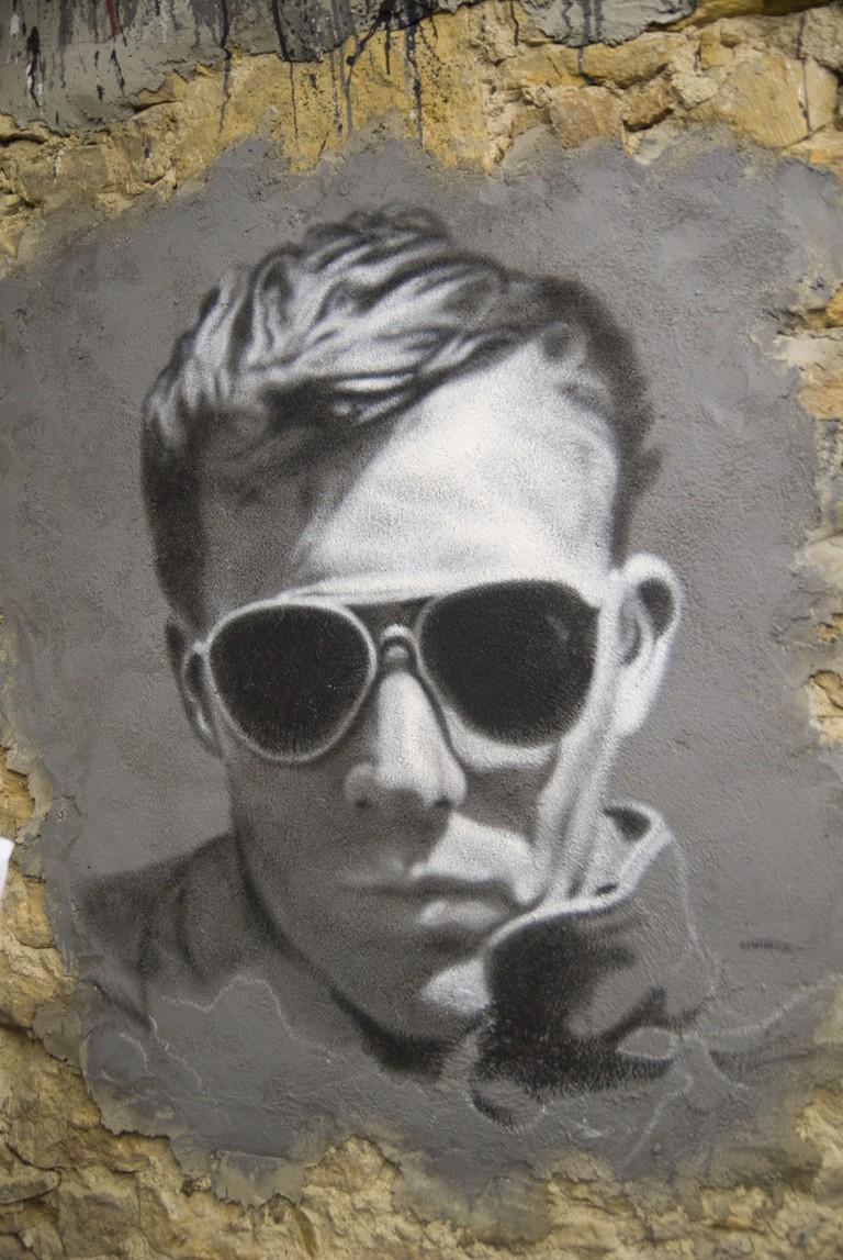 Hunter S. Thompson graffiti 2