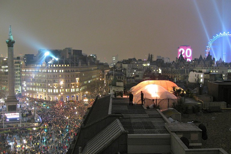 New Year's Eve Fireworks, London