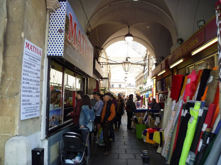 Part of St Nicholas Market | © Jeremy Bolwell / Geograph