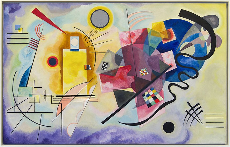 Wassily Kandinsky's 'Jaune Rouge Bleu' | © WikiCommons