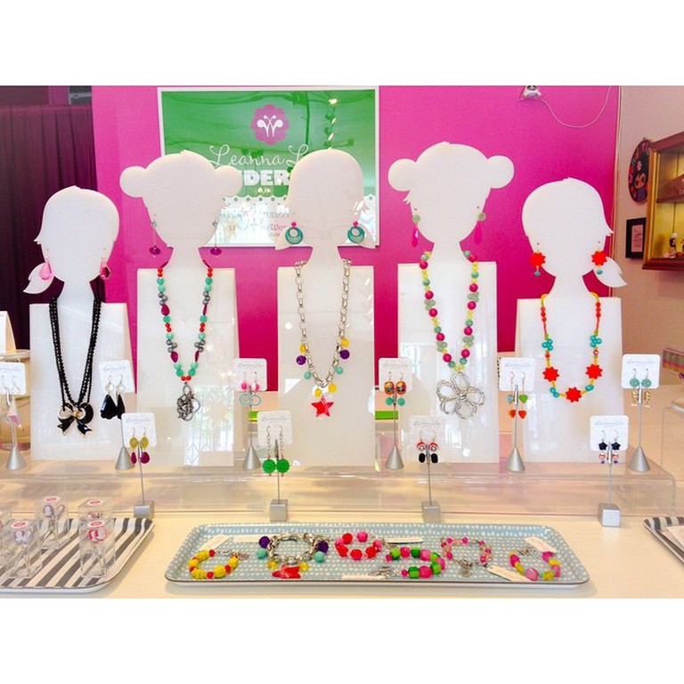 Jewelry in Leanna Lin's Wonderland. Courtesy of Leanna Lin.