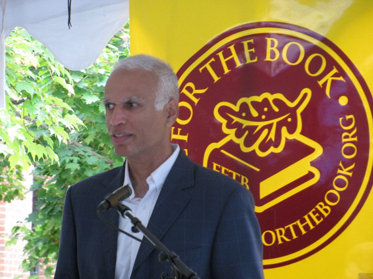 Manil Suri at the 2013 Fall for the Book festival