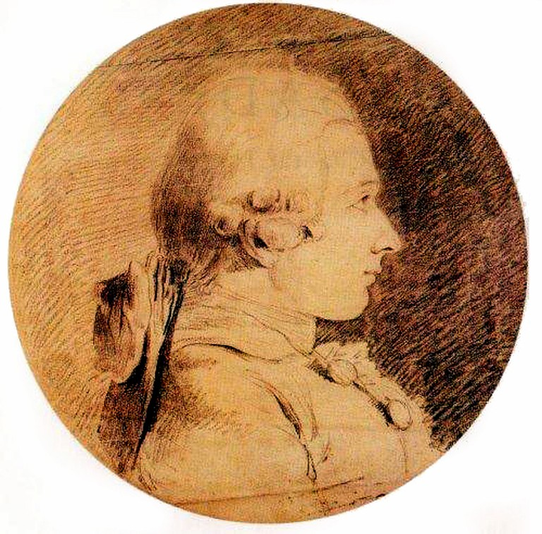 Portrait of Marquis de Sade by Charles Amédée Philippe van Loo | © Charles Amédée Philippe van Loo/Greek Wikepia/WikiCommons
