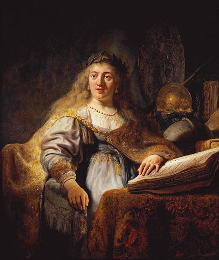 Rembrandt, Minerva, 1635 | © Rembrandt/WikiCommons