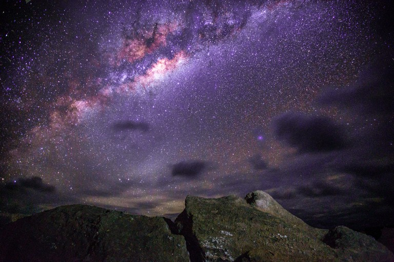 Stargazing on Easter Island