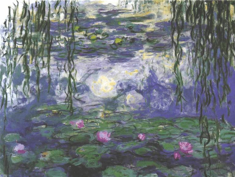 Water Lilies (Nymphéas), Musée Marmottan Monet
